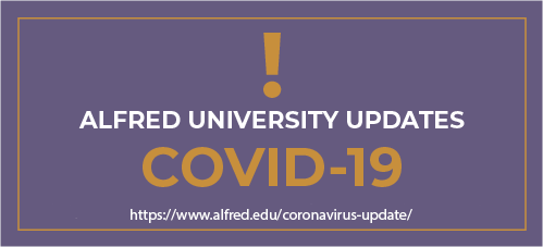 Alfred University Updates on COVID-19
